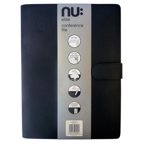 Nu Elite Conference File With A4 Notebook