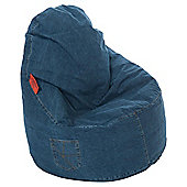 Kaikoo Ezee Chair, Dark Wash Denim
