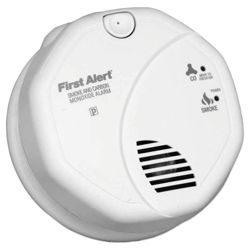 First Alert Combination Smoke and Carbon Monoxide Alarm