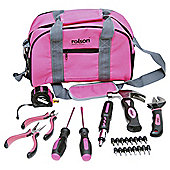 25pc Tool Bag Set Pink