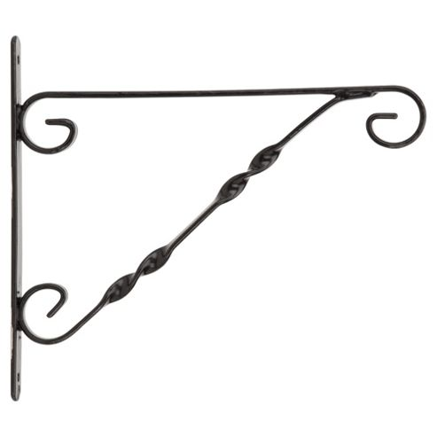 Standard Hanging Basket Bracket - Black