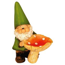 Woodland Wilf Feeds the Birds Gnome
