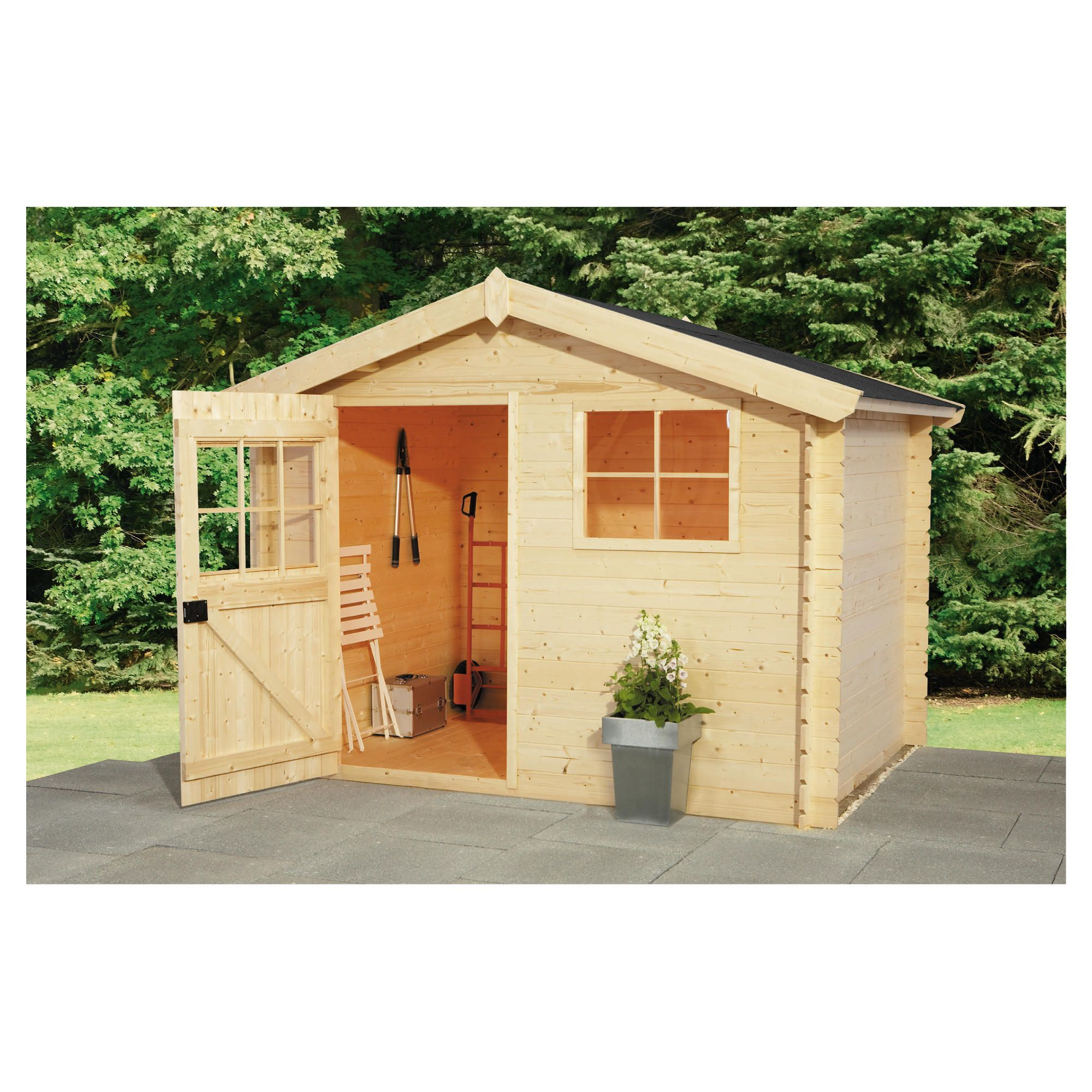 Finnlife VAHA 212 Log Cabin at Tesco Direct