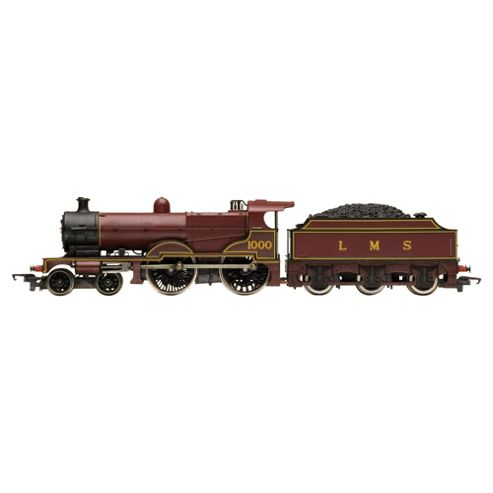 Hornby R3063 Railroad Lms Compound 4-4-0 00 Gauge Steam Locomotive