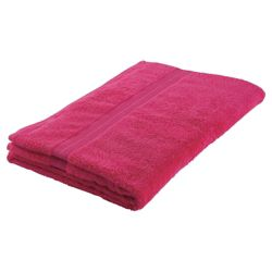 Tesco Bath Sheet Raspberry