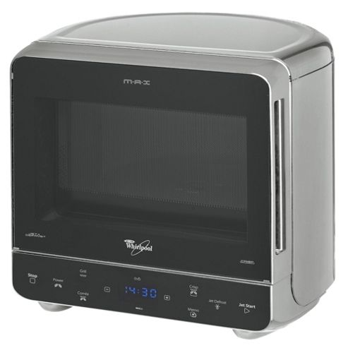 Whirlpool Microwave Oven with  Grill Max 38 13L, Silver