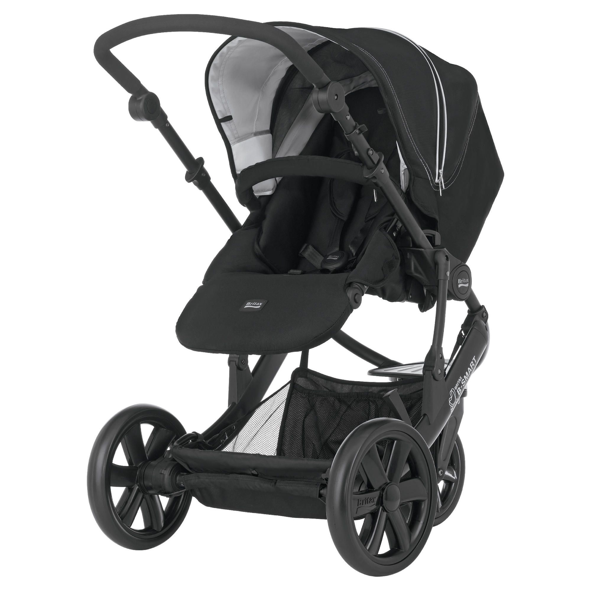 Britax B-Smart 3 Wheeler Pushchair Black Thunder at Tescos Direct