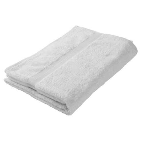 Tesco Bath Towel White