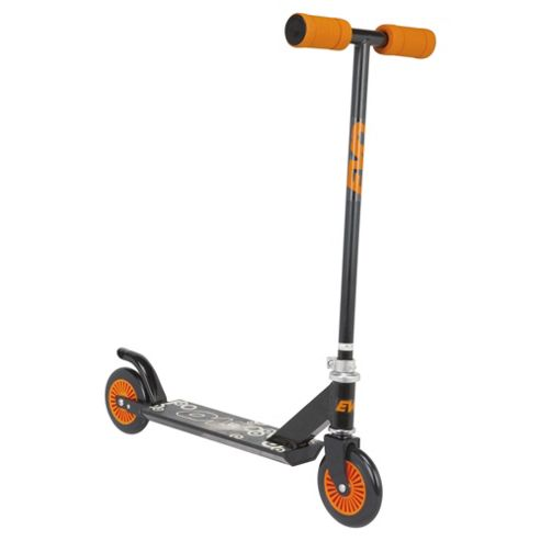 Evo 2 Wheel Inline Scooter Black and Orange