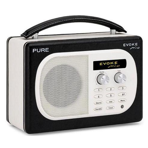 PURE EVOKE MIO DAB/FM RADIO (NOIR BLACK)
