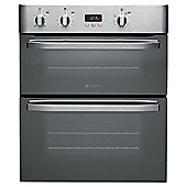 Hotpoint UHS53X Stainless Steel Built Under Double Oven