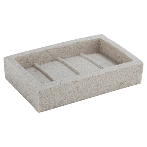 Tesco Home Stone Effect Soap Dish
