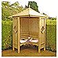 Finewood Corner Arbour 5x5 with Installation