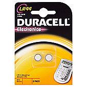 Duracell 2 Pack LR44 Alkaline 1.5V Batteries