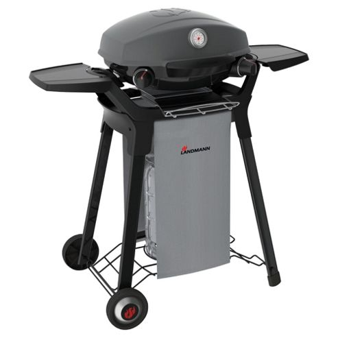 Landmann Pantera 2 Burner Portable Gas BBQ with Trolley