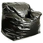 Kaikoo Signature Soft Algro Leather Cozi Arm Chair, Black