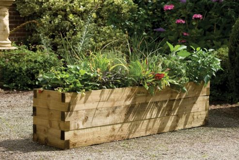 Caledonian Raised Bed Planter 180cm x 45cm