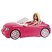 Barbie Convertible Car & Doll