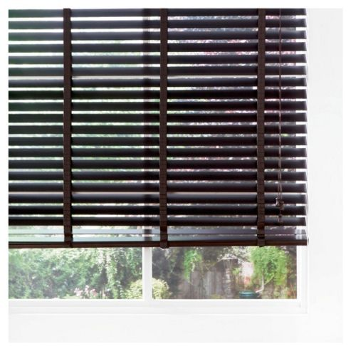 Wood Venetian Blind Pure Mocha 180cm 50mm slats