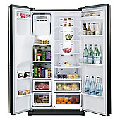 Samsung RSH5UBBP1/XEU Fridge Freezer, Energy Rating A+, Width 91.2cm. Black