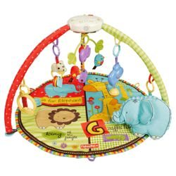 Fisher-Price Luv U Zoo Deluxe Musical Mobile Activity Gym