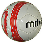 Mitre Football Size 5 Red & Black