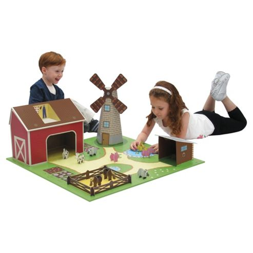 Krooom Farm Set with Animals
