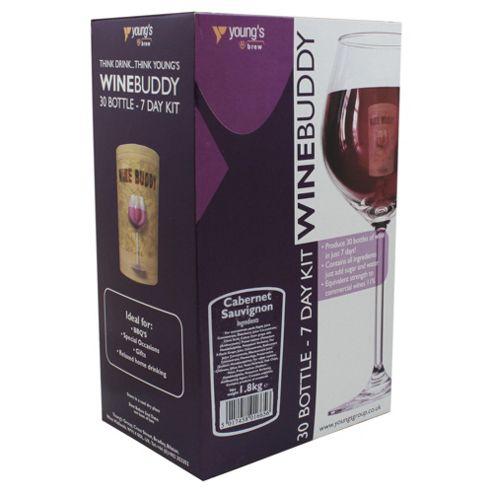 WineBuddy 7 day Merlot, 6 bottles