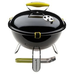 Landmann Piccolino Portable Charcoal BBQ, Black