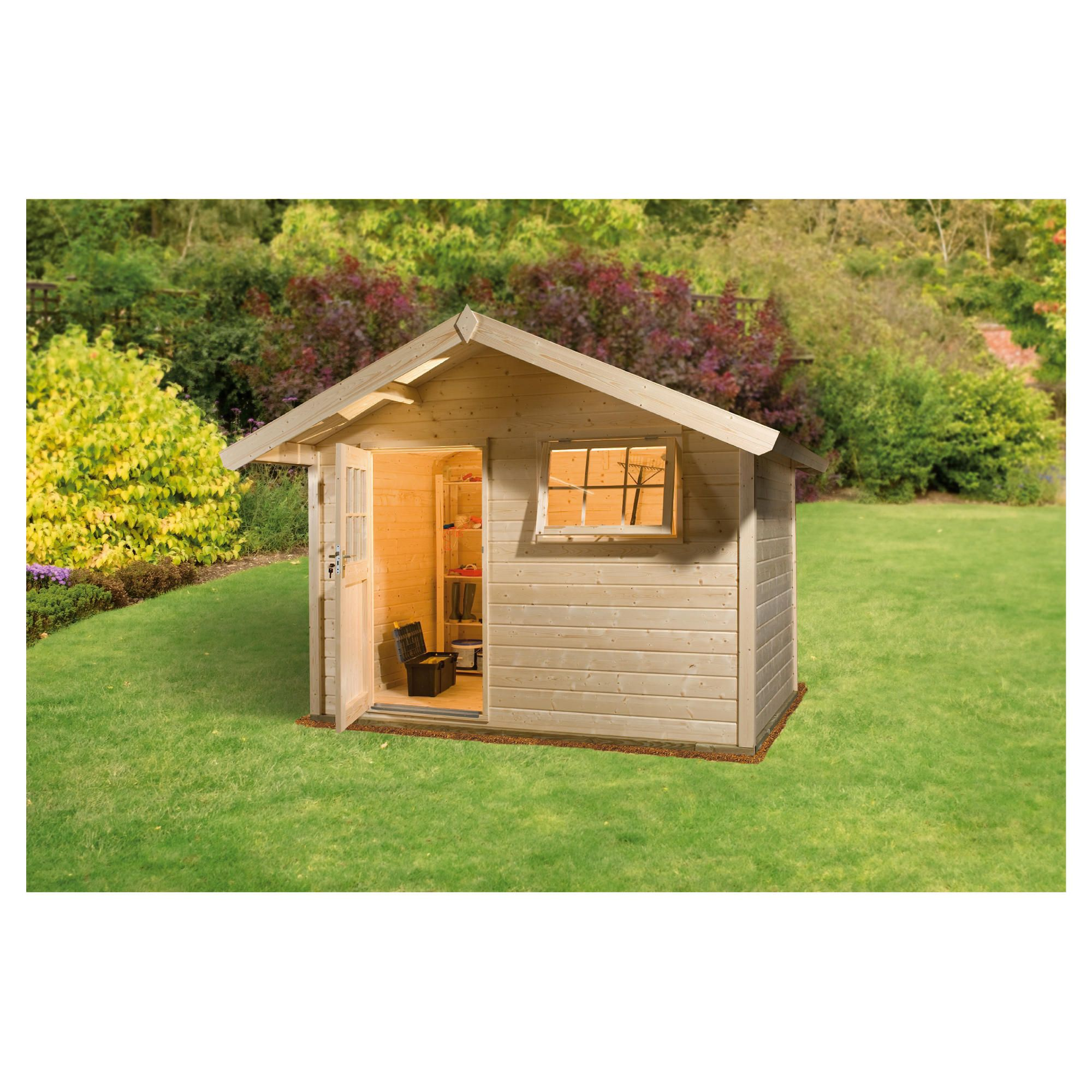 Finnlife SUVI 212 Log Cabin at Tesco Direct