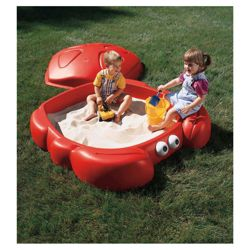 Step2 Crabbie Sandbox, Red
