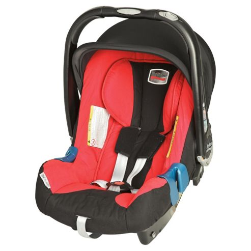 Britax Baby Safe Plus SHR II Group 1 Baby Car Seat, Lisa Red