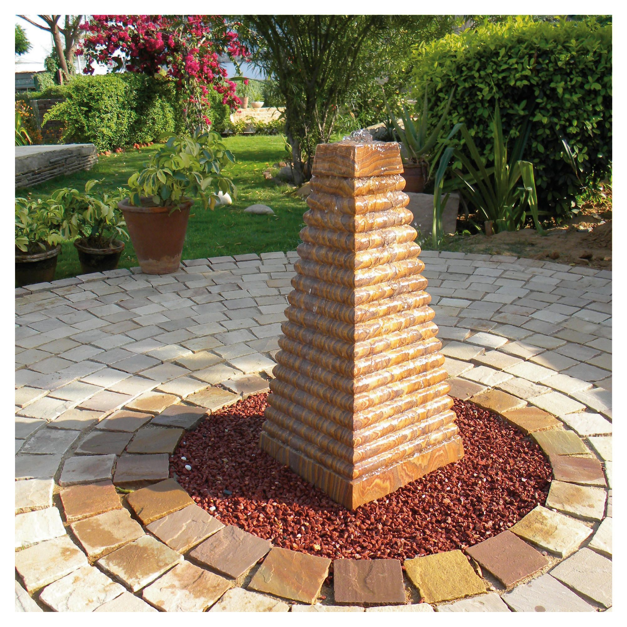 Pyramis Rainbow Water Feature 40cm at Tesco Direct