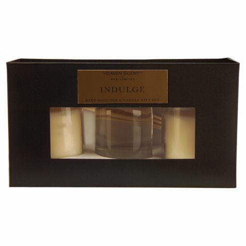 Indulge Reed Diffuser and Votive Set