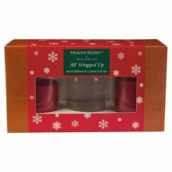All wrapped up Reed Diffuser & Votive Set