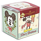 Vintage Minnie & Mickey charity christmas cards, 30 pack