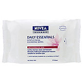 Nivea Visage Cleansing Wipes Dry/Sensitive 25