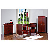 Tutti Bambini Rio 3 Piece Room Set, Coffee with FREE Home Assembly