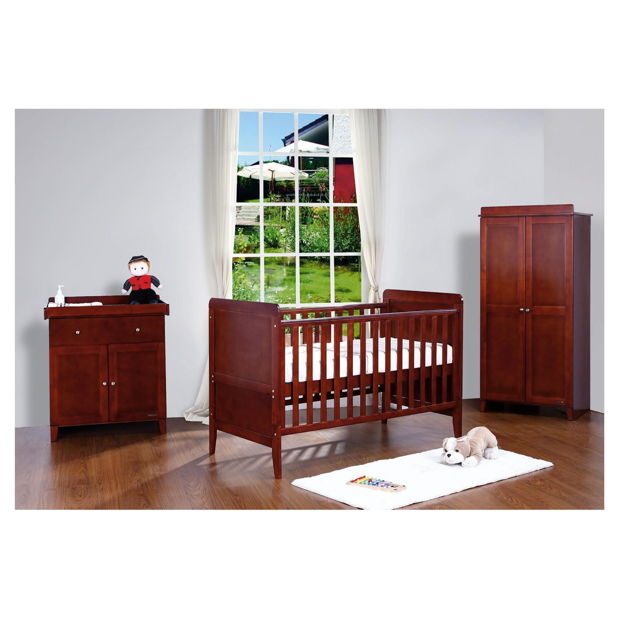 Tutti Bambini Rio 3 Piece Room Set, Coffee with FREE Home Assembly at Tesco Direct