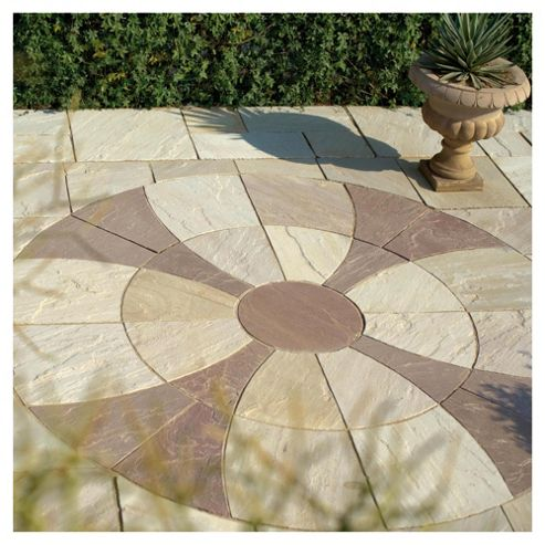 Celtic Cross Mint and Modak Paving Kit