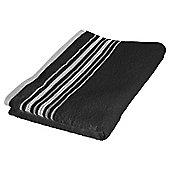 Tesco Linear Hand Towel – Black