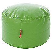Kaikoo Kids Faux Leather Funzee Seat With Footstool, Green