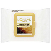 L'Oréal Age Perfect Cleansing Wipes Mature Skin