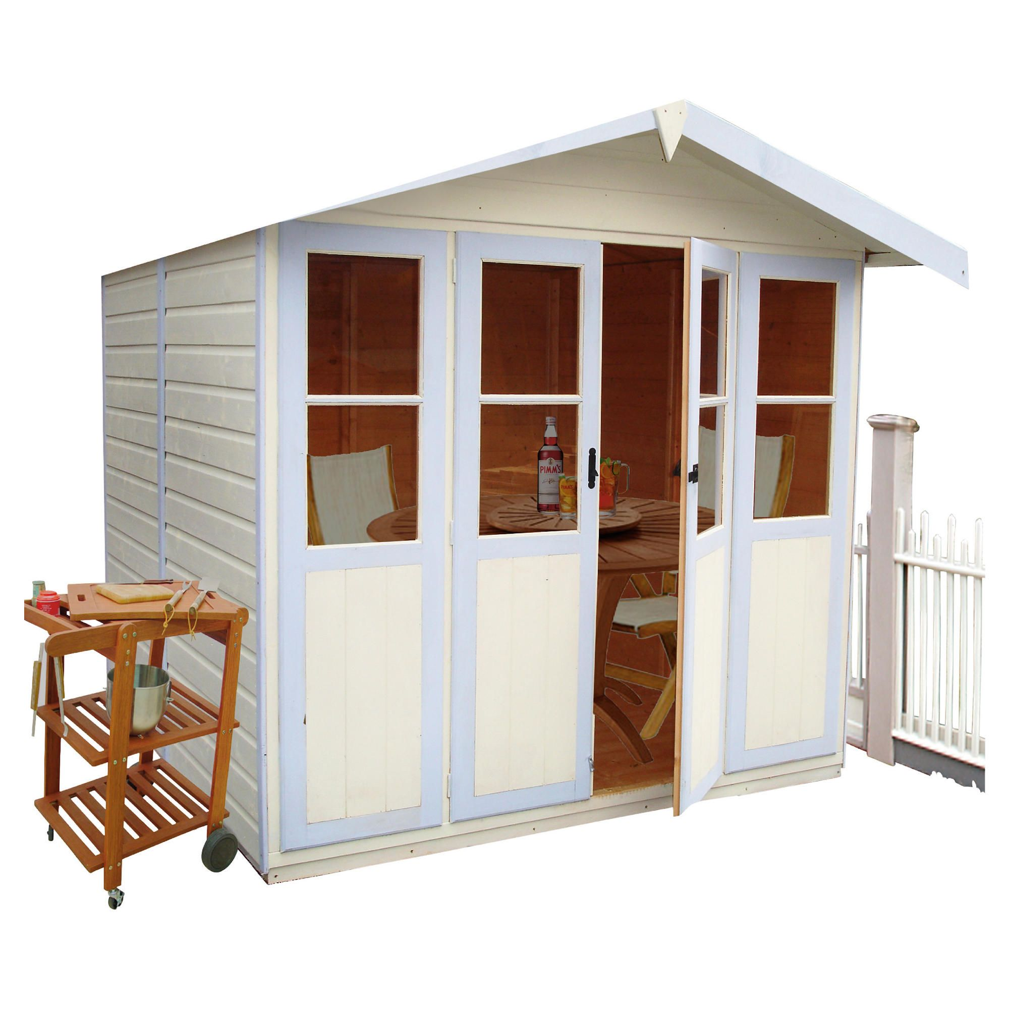 Finewood Haddon 7x5 Summerhouse at Tesco Direct
