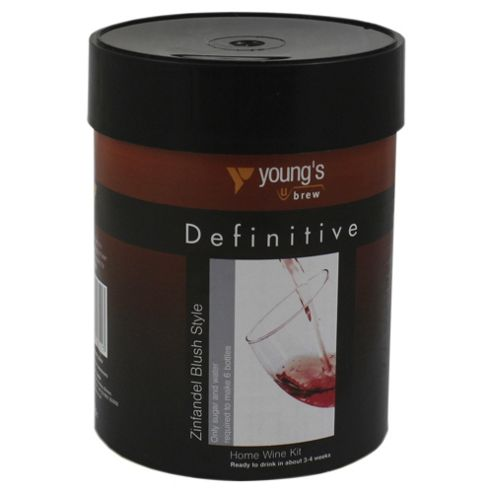Youngs Definitive Zinfandel Blush Style 6 bottle