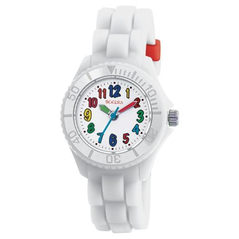 Tikkers Childrens Rubber Strap Watch TK0017