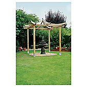 Ashcott Pergola - Includes Bolt down Anchors