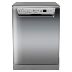 Hotpoint FDPF 481X Full Size Dishwasher, A+ Energy Rating. Silver