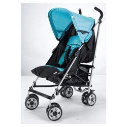 Hauck Turbo Pushchair And Raincover, Petrol