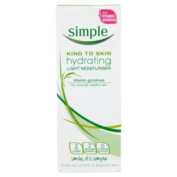 Simple Kind To Skin Hydrating Moisturiser 125ml